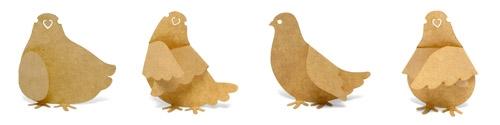 Sticky Notes - Pigeon