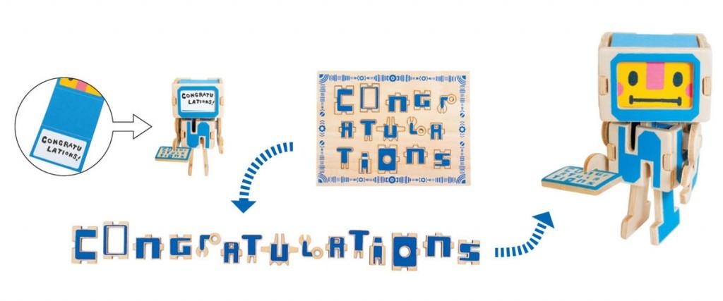 PLAY-DECO Greeting - Congratulations